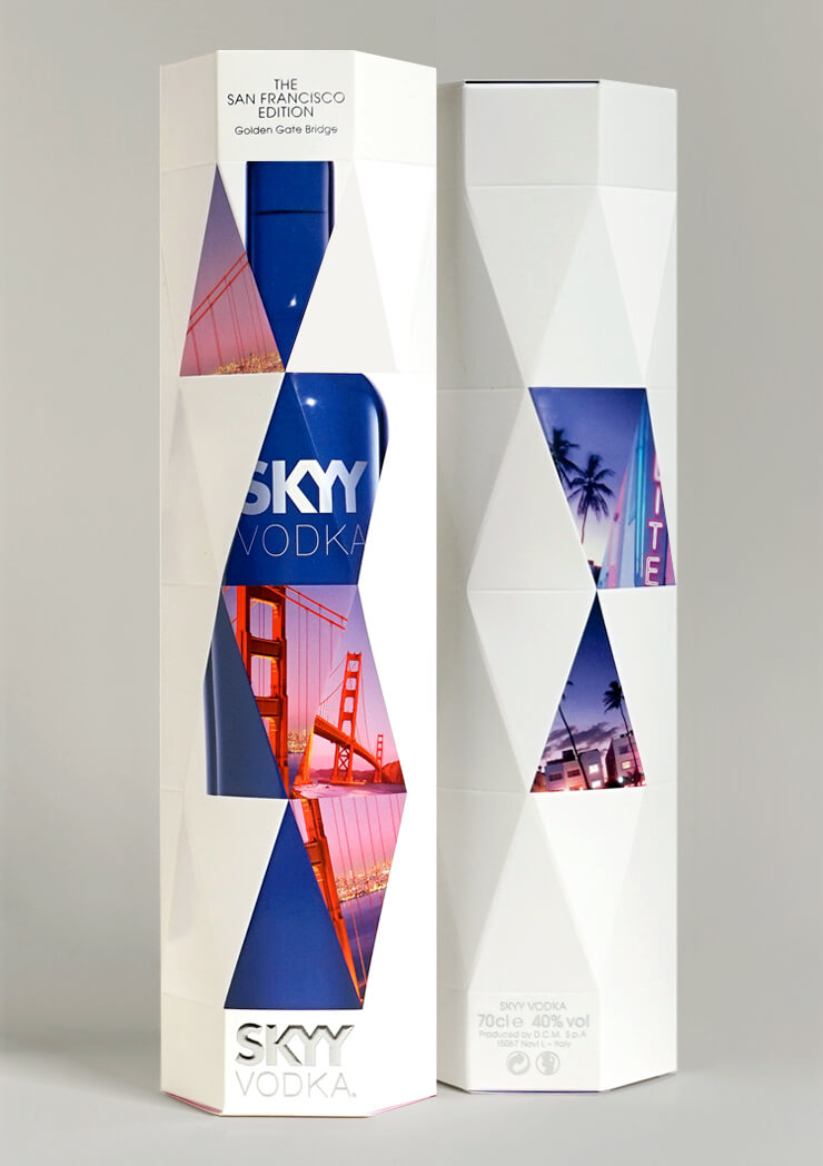 Skyy Vodka City Editions